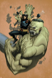 Ultimate Wolverine Vs. Hulk No.2 Cover: Wolverine and Hulk Posters by Leinil Francis Yu