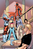 Alpha Flight No.2 Group: Major Mapleleaf, Nemesis and Alpha Flight Fotografia por Clayton Henry
