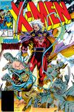 X-Men No.2 Cover: Magneto and Professor X Foto por Jim Lee