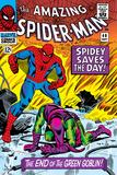 John - The Amazing Spider-Man, Dark Reign: The Goblin Legacy, obálka: Spiderman bojující se zeleným goblinem Plakát