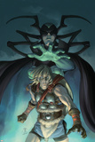 Thor Son Of Asgard No.11 Cover: Thor and Hela Posters