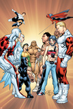 Alpha Flight 11 Cover: Puck Print by Clayton Henry