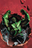 Ultimate Origins No.4 Cover: Hulk Affiche par Gabriele DellOtto