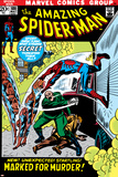 The Amazing Spider-Man No.108 Cover: Spider-Man Swimming Plakater av John