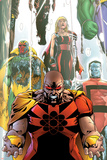 Exiles No.63 Cover: Hyperion, Colossus and Vision Posters by Mizuki Sakakibara
