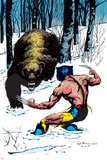 Classic X-Men No.25 Cover: Wolverine Swinging Posters by John Bolton