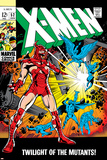 X-Men No.52 Cover: Erik The Red and X-Men Poster by Werner Roth