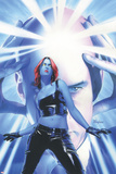 Mystique No.15 Cover: Mystique and Professor X Posters