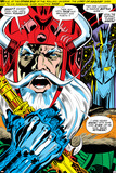 Thor No.180 Headshot: Odin Photo by Neal Adams