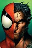 Ultimate Spider-Man No.67 Cover: Spider-Man and Wolverine Posters by Mark Bagley