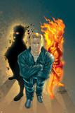 X-Treme X-Men No.42 Cover: Cannonball, Sunspot and Magnus Plakater af Salvador Larroca
