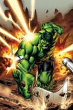 Incredible Hulks No.615 Cover: Hulk Smashing Reprodukcje autor Carlo Pagulayan