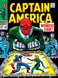 Marvel Comics Retro: Captain America Comic Book Cover No.103, Red Skull, the Weakest Link Prints