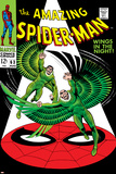 The Amazing Spider-Man No.63 Cover: Vulture Flying Plakater av John Romita Sr.