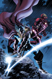 Thor No.80 Cover: Thor and Iron Man Plakaty autor Steve Epting