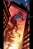 Ultimate Spider-Man No.110 Cover: Spider-Man and Kingpin Crawling Photo by Mark Bagley