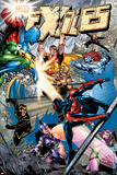 Exiles No.77 Cover: Spider-Man, Morph, Hyperion, Blink, Zarda, Whizzer and Dr. Spectrum Posters by James Calafiore