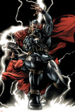 Thor No.607 Cover: Thor Prints by Mico Suayan