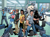 New X-Men: Hellions No.1 Group: Dust, Rockslide, Wither, Mercury and Tag Pôsters por Clayton Henry