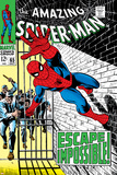 The Amazing Spider-Man No.65 Cover: Spider-Man Charging Plakater av John