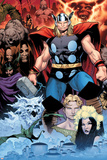 Thor: Tales of Asguard by Stan Lee & Jack Kirby No.1 Cover: Thor Posters by Olivier Coipel