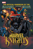 The Official Handbook Of The Marvel Universe: Marvel Knights 2005 Cover: Black Panther Plakater av Pat Lee