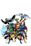 Marvel Legends: Arthur Adams TPB Cover: Wolverine Plakaty autor Arthur Adams