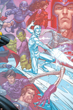 X-Men: First Class Finals No.4 Cover: Iceman Prints by Roger Cruz