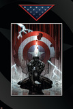 Fallen Son: The Death Of Captain America No.4 Cover: Spider-Man Charging Posters by David Finch
