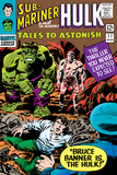 Tales to Astonish No.77 Cover: Hulk, Banner and Bruce Poster by Vince Colletta