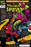 Spectacular Spider-Man No.200 Cover: Spider-Man and Green Goblin Photo by Sal Buscema