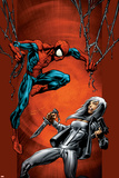 Ultimate Spider-Man No.88 Cover: Spider-Man and Silver Sable Posters by Mark Bagley