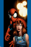 Ultimate Spider-Man No.78 Cover: Mary Jane Watson and Spider-Man Posters by Mark Bagley