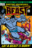 Amazing Adventures No.11 Cover: Beast Prints by Gil Kane