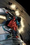 Nightcrawler No.5 Cover: Nightcrawler Posters af Greg Land