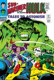 Tales to Astonish No.81 Cover: Hulk and Boomerang Prints by Dick Ayers