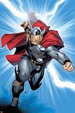 Thor No.6 Cover: Thor Photographie par Olivier Coipel