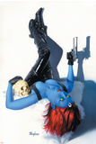 Mystique No.9 Cover: Mystique Prints