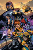 Uncanny X-Men No.469 Cover: Wolverine, Marvel Girl, Nightcrawler, Sentinel, Bishop and Psylocke Prints by Billy Tan