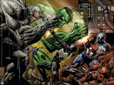 Fallen Son: The Death Of Captain America No.4 Group: Spider-Man Pósters por David Finch