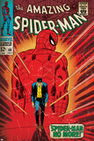 Marvel Comics Retro: The Amazing Spider-Man Comic Book Cover No.50, Spider-Man No More! (aged) Poster