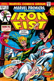 Gil Kane - The Immortal Iron Fist: Marvel Premiere No.15 Cover: Iron Fist Obrazy
