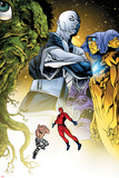 Avengers Academy No.7: Giant Man and Absorbing Man Flying Posters by Mike McKone