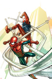 Spider-Man: The Clone Saga No.4 Cover: Spider-Man and Scarlet Spider Prints by Tom Raney