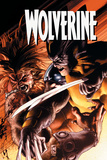 Wolverine No.51 Cover: Wolverine and Sabretooth Print