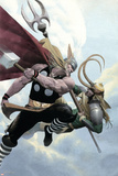 Loki No.2 Cover: Thor and Loki Posters