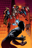 Ultimate Spider-Man No.126 Cover: Spider-Man, Iron Man, Captain America and Thor Posters by Stuart Immonen