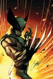 Wolverine: Savage No.1 Cover: Wolverine Plakat autor J. Scott Campbell