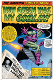Dark Reign: The Goblin Legacy One-Shot Cover: Green Goblin and Spider-Man Posters av John Romita Sr.