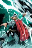 Thor No.1 Cover: Thor Photo by Olivier Coipel